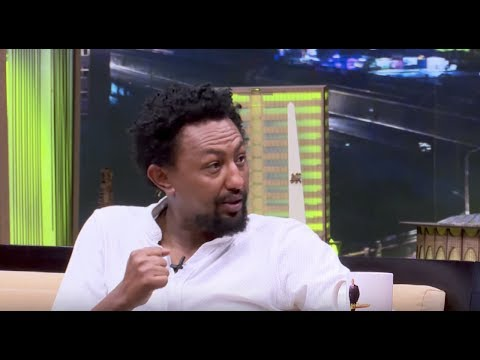 Seifu on EBS  with Artist Solomon Bogale