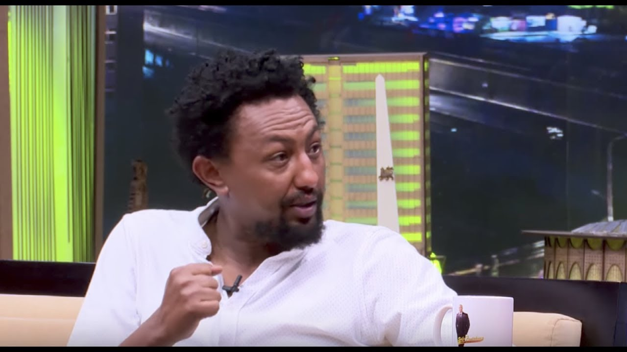 Ethiopian Famous Actor Solomon Bogale With Seifu On EBS TV Interview