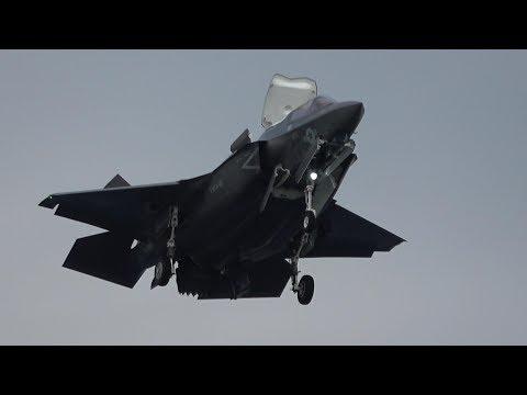 2017岩国基地F35B・12月7日②「米韓合同軍事演習の影響アリアリ!」