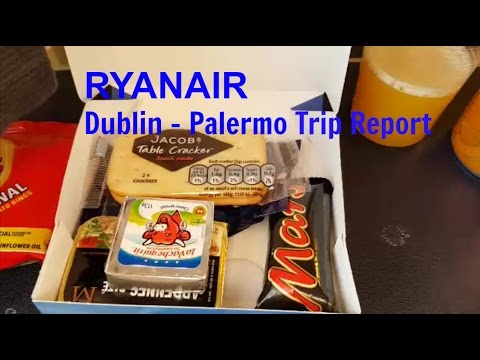 Ryanair Flight Review Dublin to Palermo Return Boeing 737-800