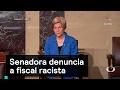 Senadora denuncia a fiscal racista - Trump - Denise Maerker 10 en punto