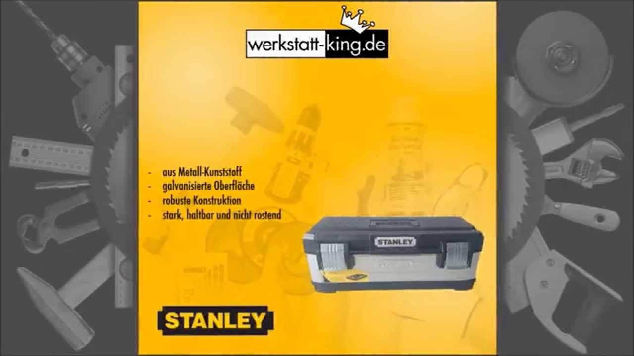 Werkstatt king.de stanley 1 95 619 werkzeugbox werkzeugkiste