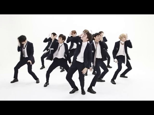 UP10TION 'Going Crazy' mirrored Dance Practice