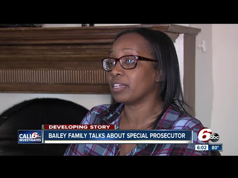 Bailey family talks about special prosecutor request in Aaron Bailey shooting death