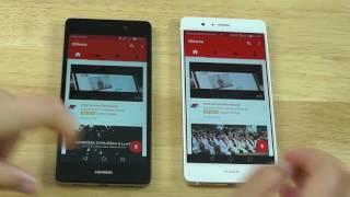 Huawei P9 Lite vs Huawei P8 Lite - porównanie / comparison