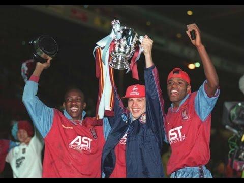 Aston Villa 3 Leeds Utd 0 - Coca Cola Cup Final -  24th March 1996