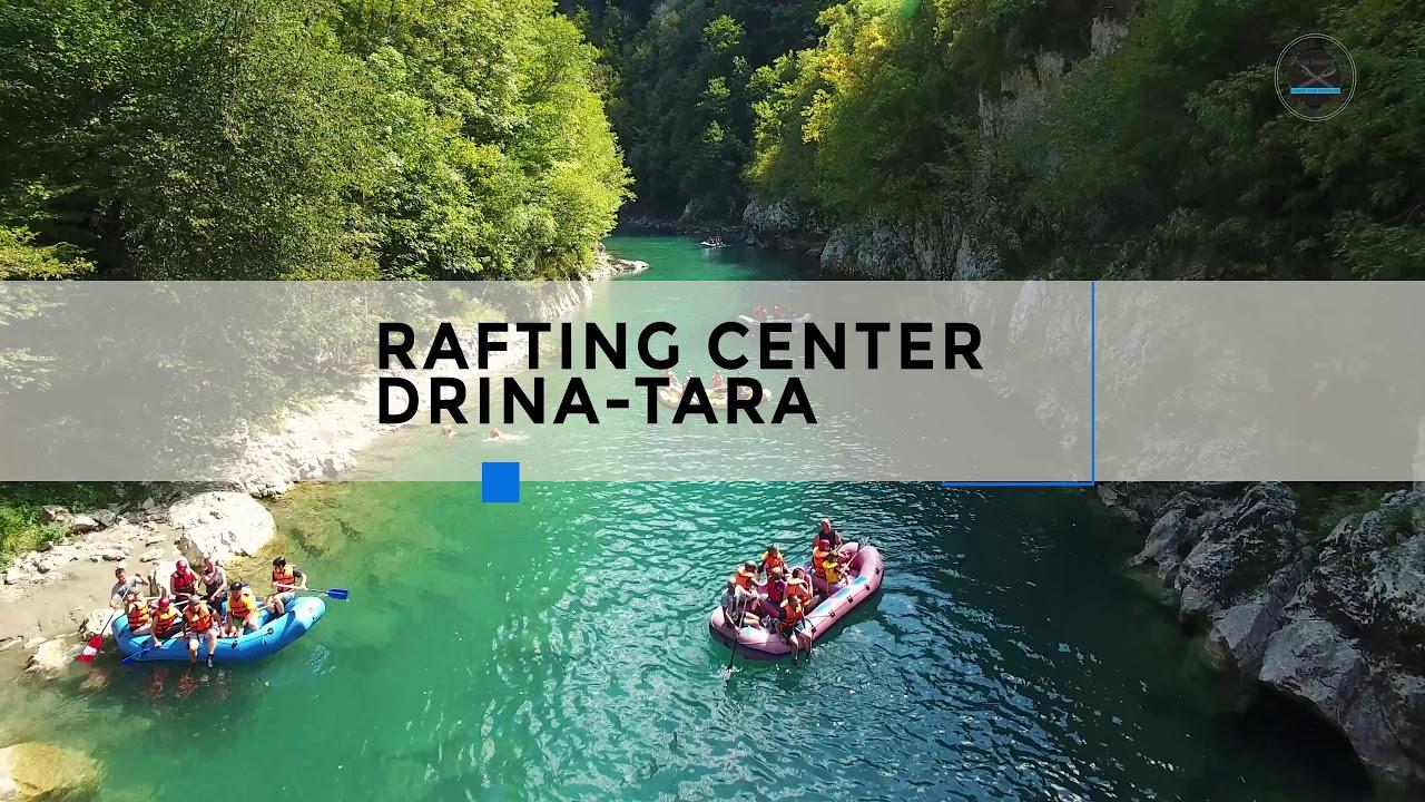 Rafting Center Drina Tara Drone Video Tara Canyon 4kp