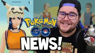 NEW POKEMON GO TRAILER (with MASQUERAIN?!) & NEW CLOTHES IN POKEMON GO! (Pokémon GO Update News)