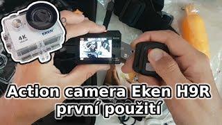 První použití kamery Eken H9R