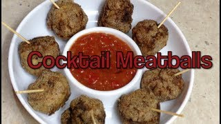 Cocktail Meatballs Fingerfood Thermochef Recipe Cheekyricho