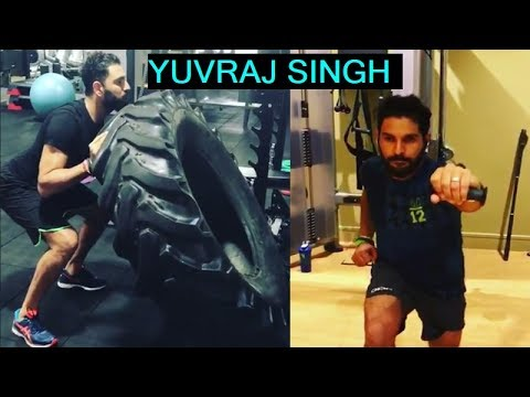 Yuvraj Singh Workout Latest Videos  🏏.Yuvraj Singh Intense Workout at Gym Latest Videos.