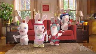 Rayman Raving Rabbids TV Party Nintendo Wii Clip-Commercial - TV Party Commercial (In Theatres)