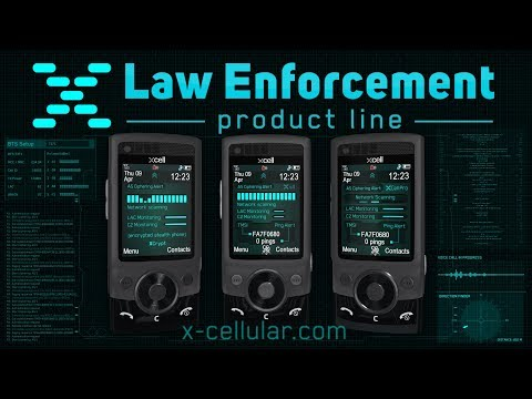 XCell Stealth Phones: Law Enforcement Product Line