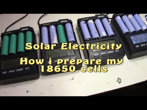 Solar Electricity: How to find and process 18650 for tesla style powerwall