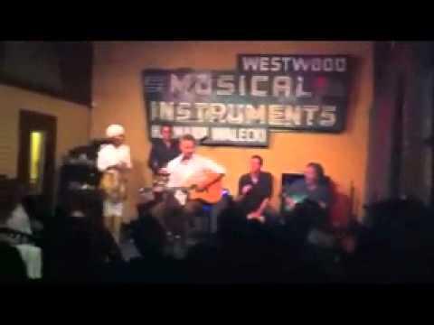 cameron daddo band, live @westwood music.