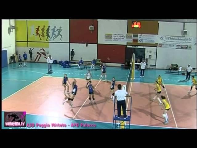 ASD Poggio Mirteto vs APD Palocco - 1° Set - Playout Serie D