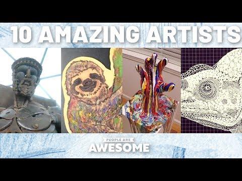 Scrap Metal Sculptures, Paper Cutting Art & More | Timelapse Tutorials