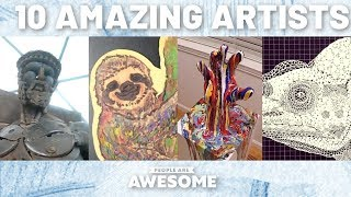 Scrap Metal Sculptures, Paper Cutting Art & More | Timelapse Tutorials