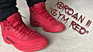 low cost 4a388 437bd Category jordan 11 gym red on feet
