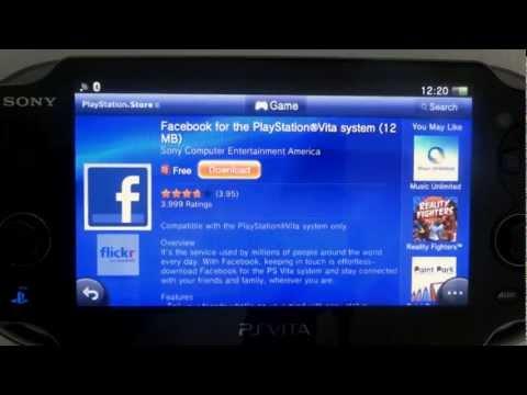 PS Vita: baixando e utilizando aplicativos Twitter, Facebook, Browser