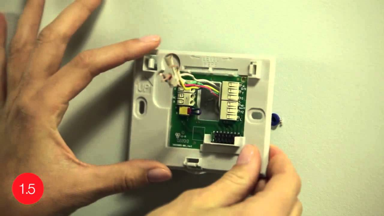 honeywell rth9580wf youtube 2017 holden colorado wiring diagram install the wifi smart thermostat