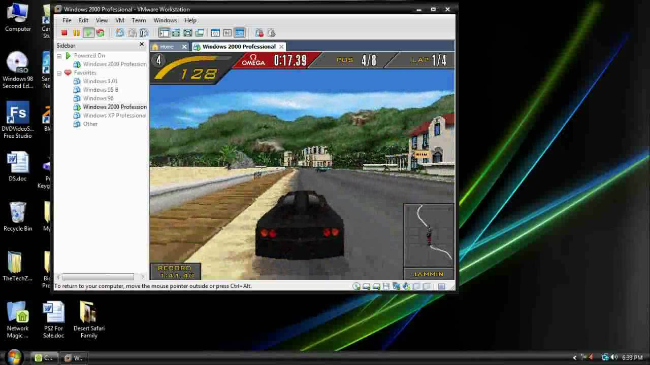 Testing 3D Games in VMWare Workstation (Virtual PC) - YouTube