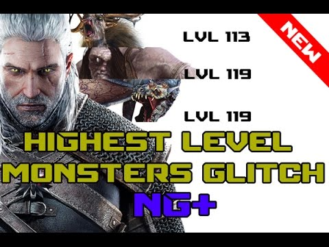 The witcher 3 wild hunt: Highest Level Monsters Glitch Cyclops Lvl 119 ps4,pc,xbox