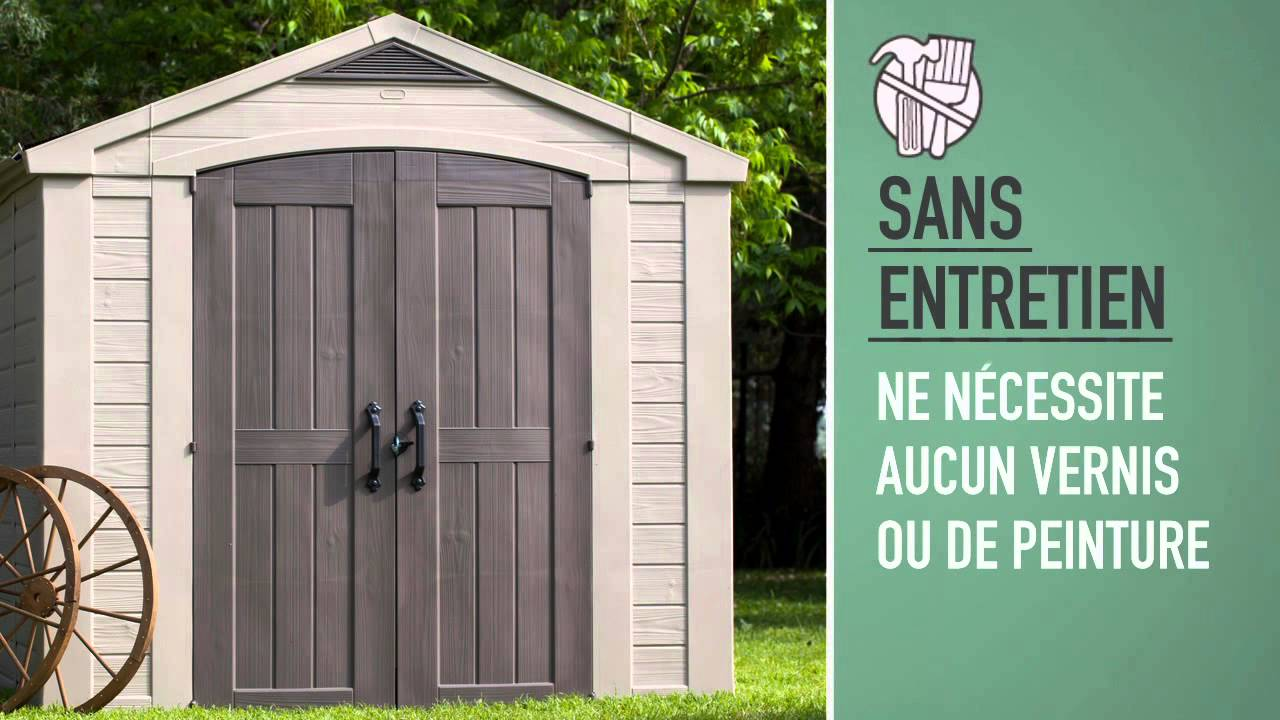 Keter Factor 8x8 Abris de Jardin - YouTube