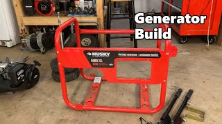 Making a Generator From Spare Parts