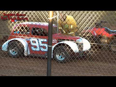 Legend Heat Races - Lil Buck 31 - Springfield Raceway 10/20/2018