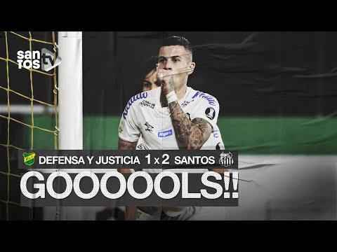 DEFENSA Y JUSTICIA 1 X 2 SANTOS | GOLS | CONMEBOL LIBERTADORES (03/03/20)