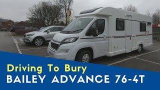 Burrs Country Park C&MC Site, Serviced Pitch | Bailey Advance 76-4T | Bailey Motorhome City Tour