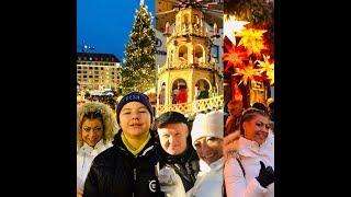 Рождественская ярмарка в Дрездене самая старая и крутая ярмарка в европе