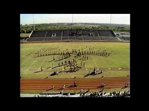 Henrietta High School Band 1990 - UIL 2A Texas State Marching Contest