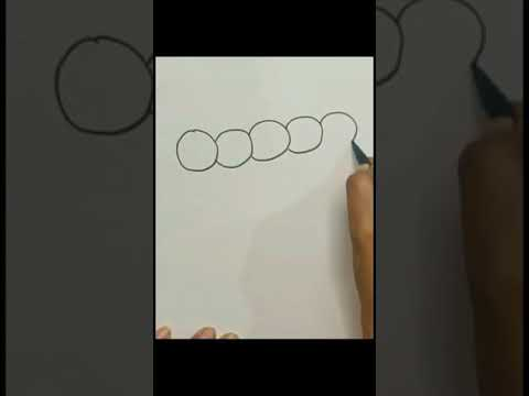 Draw a Caterpillar with me || Quick & Super Easy for beginners ||