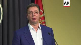 Serbia PM protests Croatia's 'anti-Serb' policies