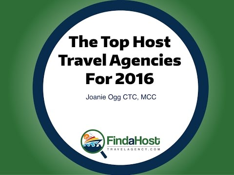 The Top Host Travel Agencies for 2016