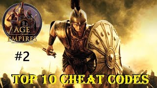 10 BEST   SUPER CHEATS part2   Age of Empires Definitive Edition   Gameplay PC