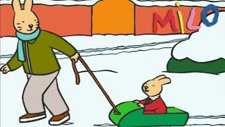 Milo - It's snow time | Cartoon for kids