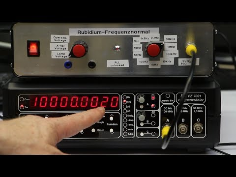 Every Maker should have...[Pt.37]...a Rubidium Frequency Standard