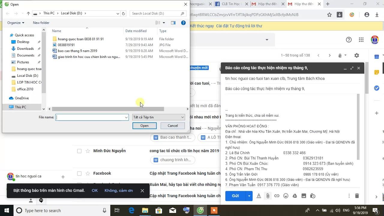 làm thế nào để gửi thư điện tử nhanh (4 bước)