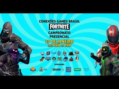 CAMPEONATO PRESENCIAL DE FORTNITE - CONEXOES GAMES