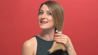 How to style a slick side ponytail | Beauty Focus Hair