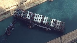 Egypte : opérations toujours en cours pour débloquer le Canal de Suez
