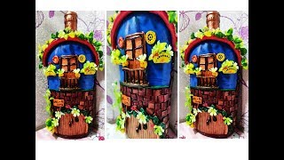 Bottle art / bottle house / bottle painting