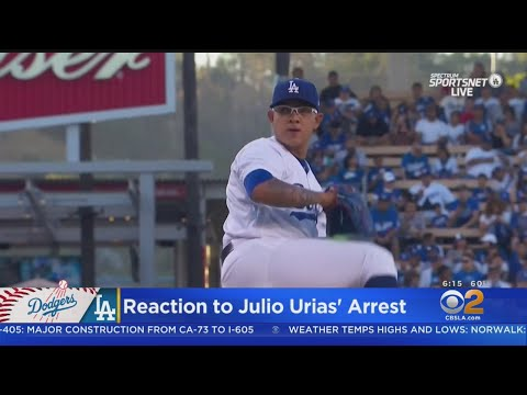 Dodgers Beat Padres After Arrest Of Pitching Star Julio Urias