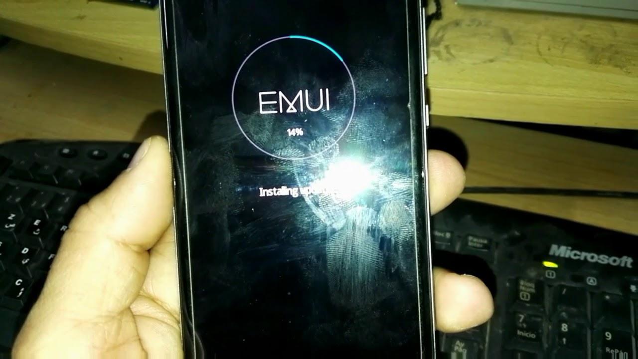 Flashing Huawei P9 write firmware