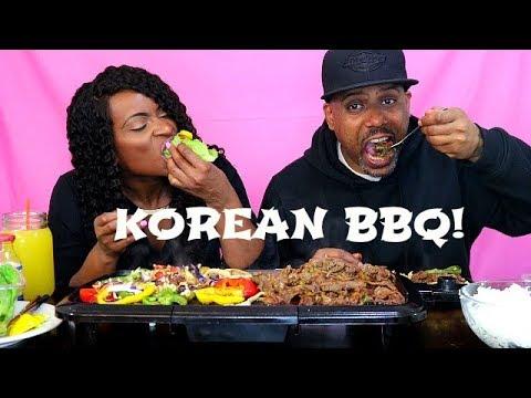 KOREAN BBQ MUKBANG! & STORY TIME!