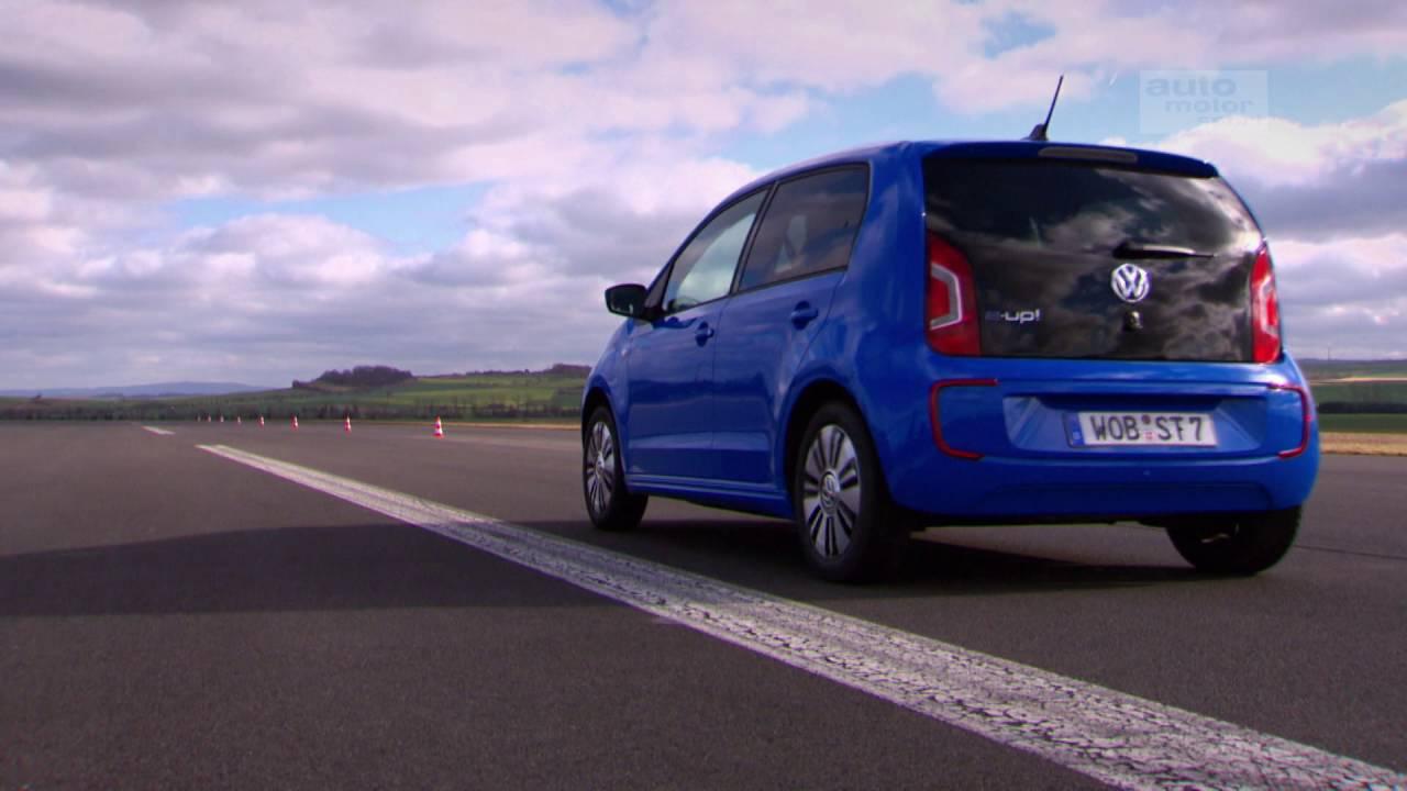 VW E-Up: Mit dem Strom schwimmen - Die Tester | auto motor und sport