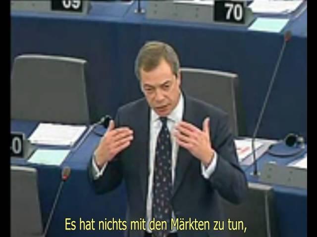 Weihnachtsgrüße von Nigel Farage (15. Dezember 2010)